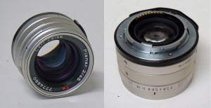 45mm f/2.0 Carl Zeiss Planar T*