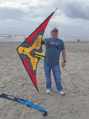 Me and my HQ Ion sport kite