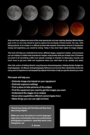 How to Take Pictures of an Eclipse back cover