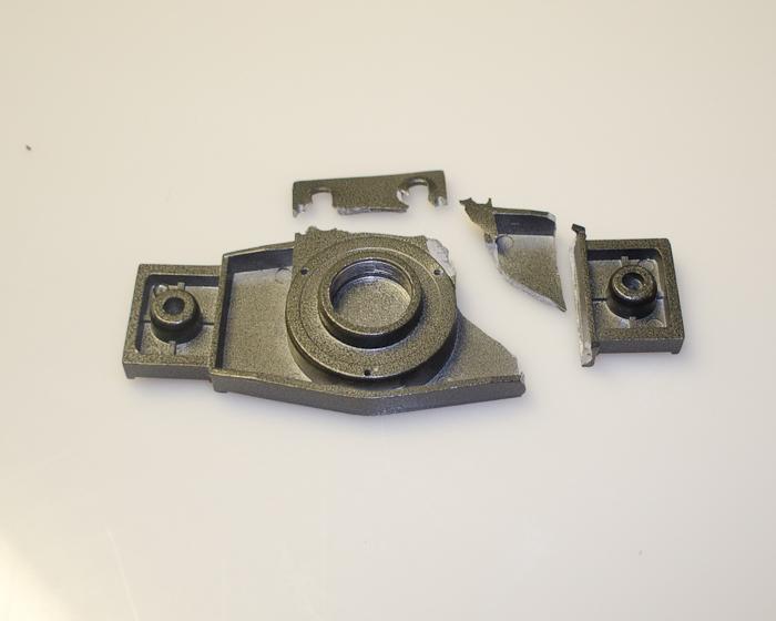 Broken mount adapter