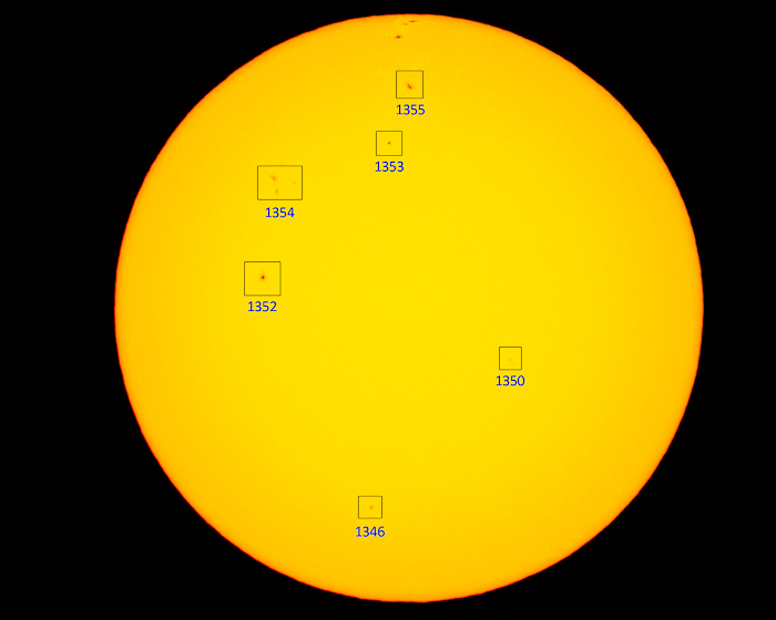 annotated solar imaging