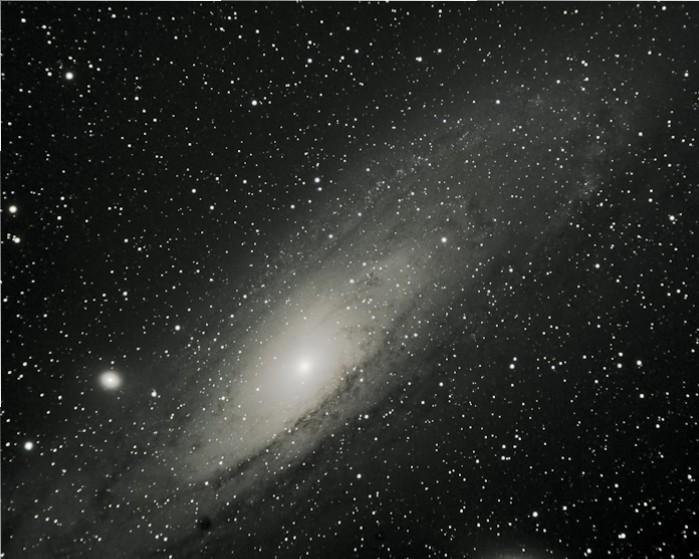 Andromeda Galaxy old