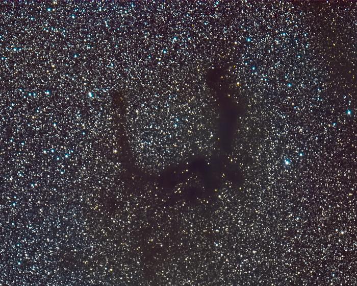 a dark nebula