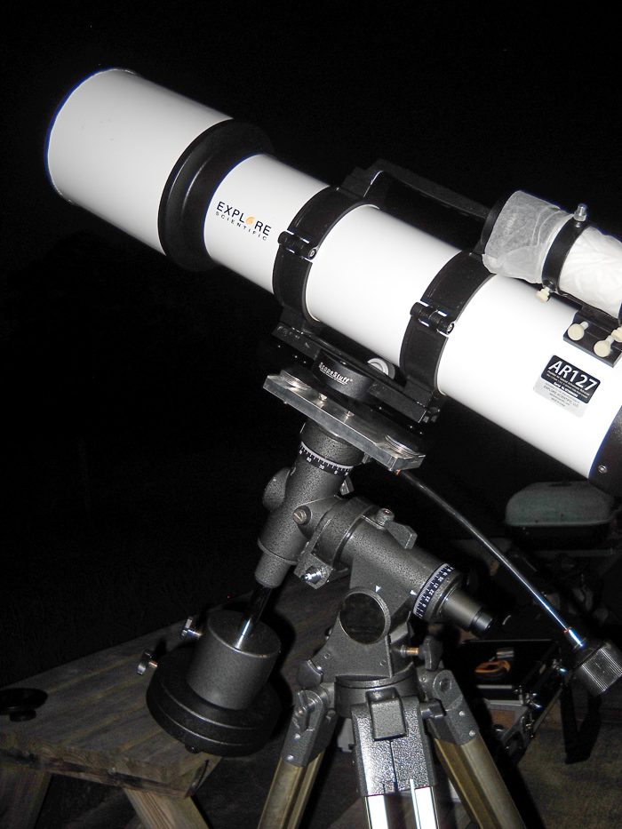 Left view of the ScopeStuff adapter