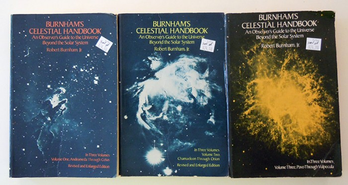 Burnham's Celestial Handbook covers
