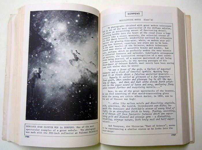 Burnham's Celestial Handbook sample pages