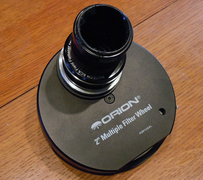 "Orion 2"" multiple filter wheel"