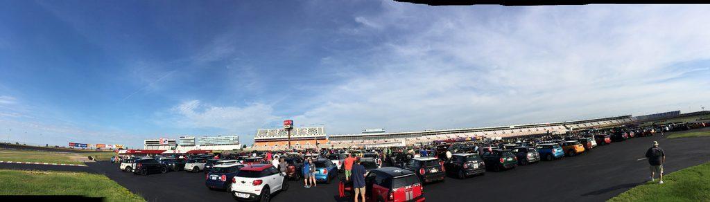 Parking at Charlotte Motor Speedway