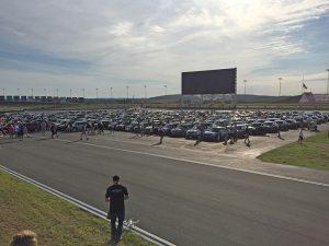 Charlotte motor speedway MINI parking