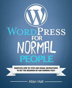 WordPress for normal people front cover